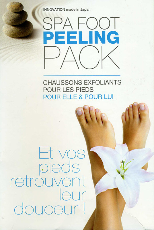 Spa Foot Peeling Pack