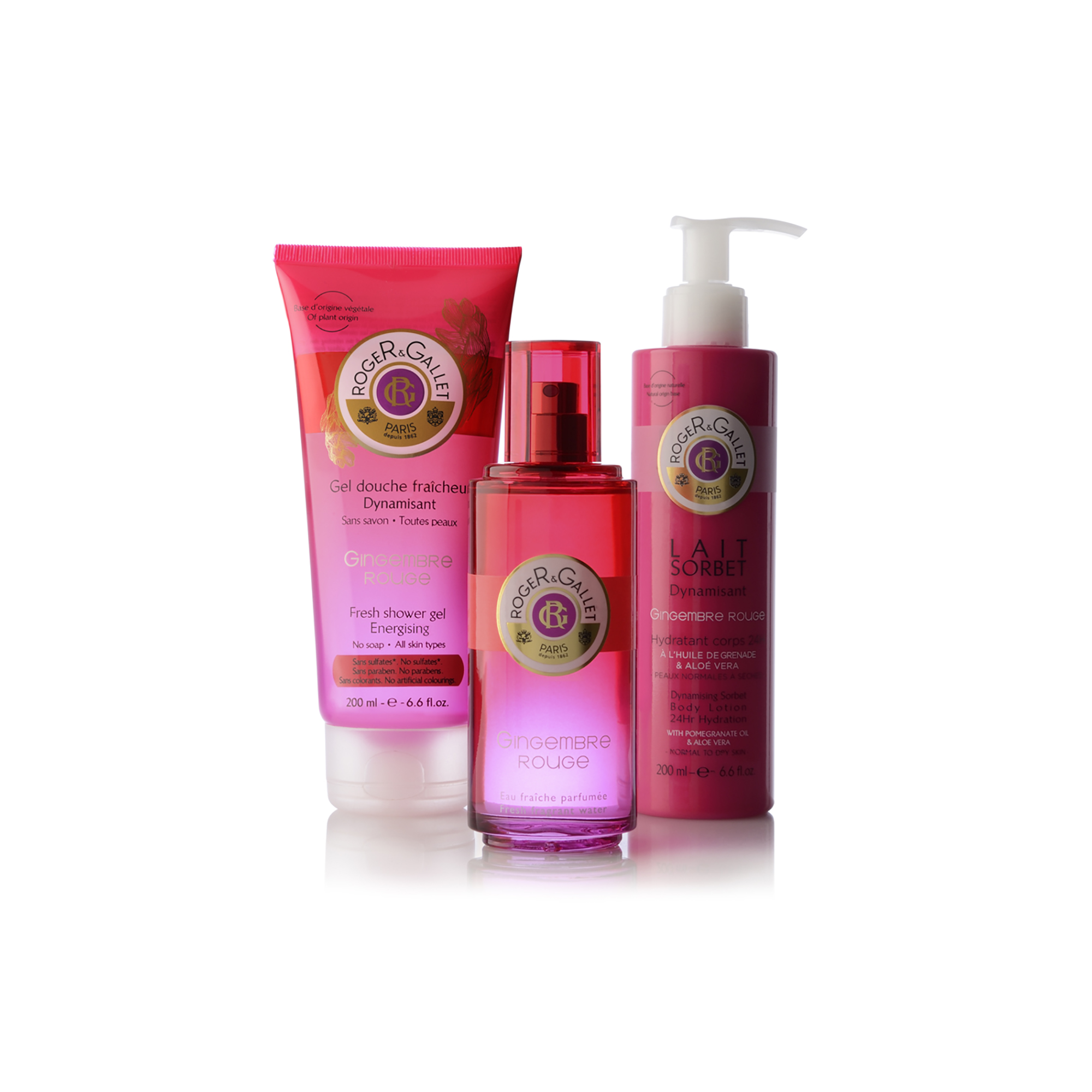 La Saga Gingembre Rouge, Roger&Gallet se poursuit…