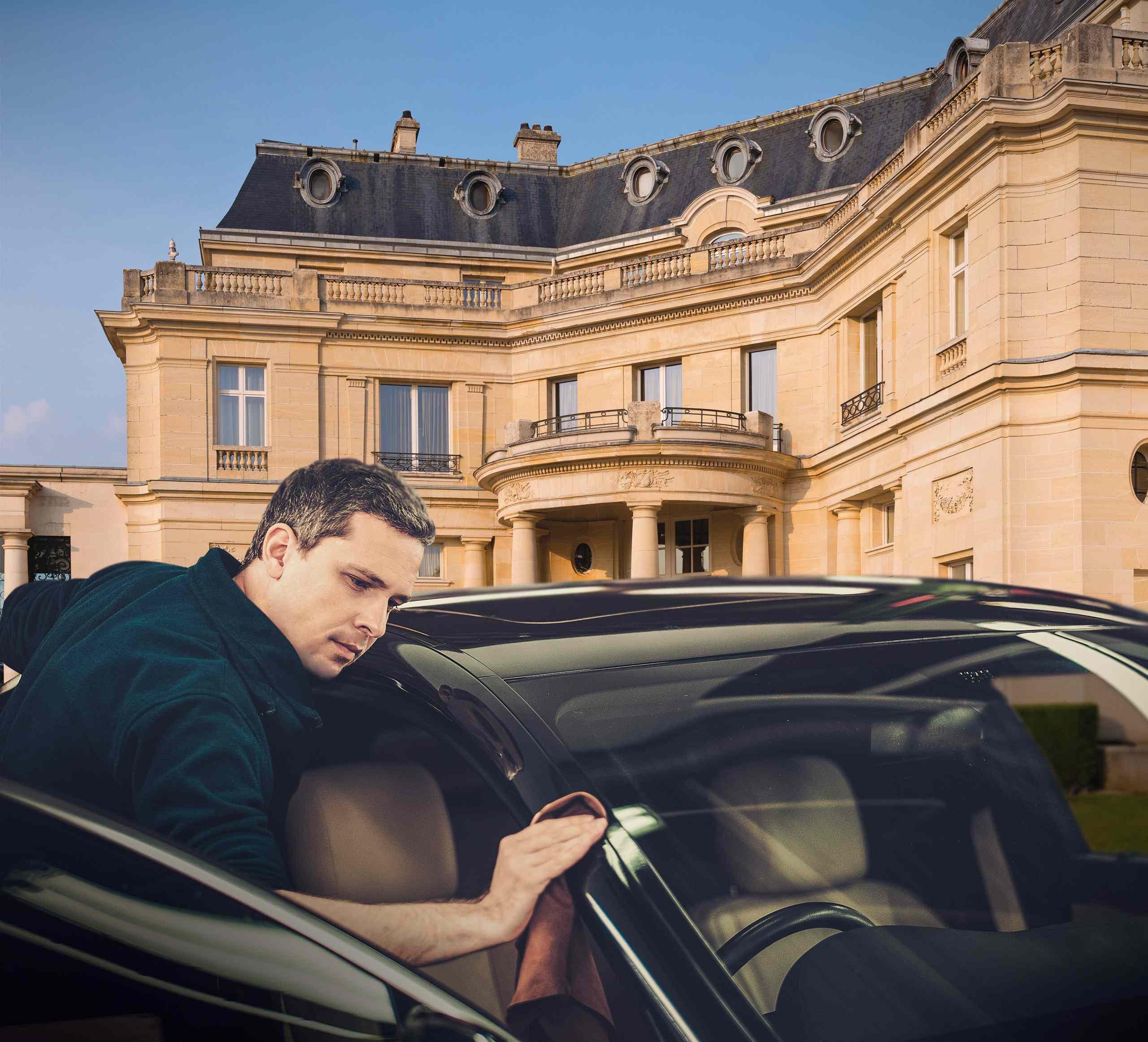 l'Hôtel Mont Royal propose le « Spa Car », Chantilly (60)