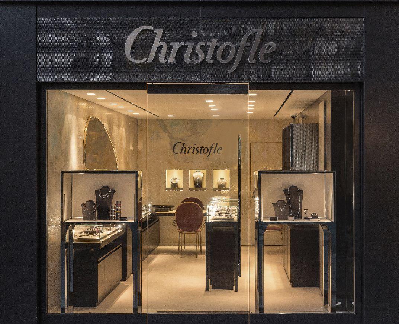 Christofle vient d'ouvrir une boutique 100% bijoux à Paris (75)