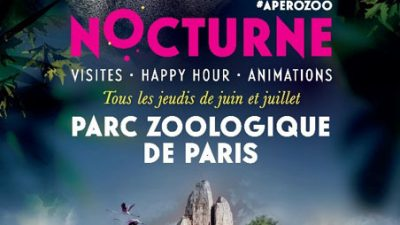 A l'Apéro-Zoo au Parc Zoologique de Paris (75)