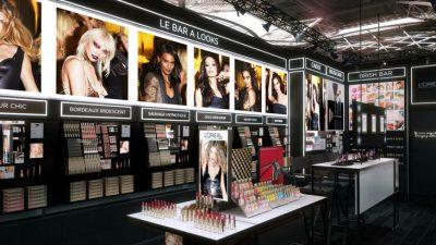 Séquence Make-Up au nouveau QG L'Oréal Paris, Paris 9e