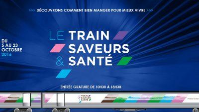 > Entre le 5 et le 23 octobre  / Le Train Saveurs & Santé