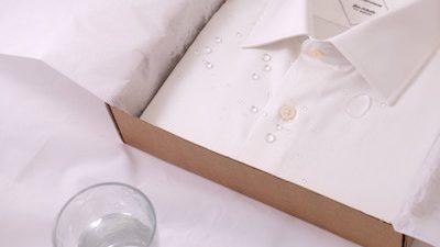 Le Chemiseur lance sa chemise anti-taches
