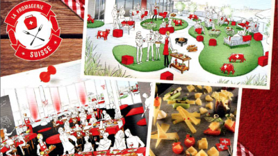 > Du 23 au 27 novembre  / Le 1er restaurant d'Altitude sur les toits de Paris (75)