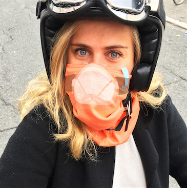 Wair : le premier foulard anti-pollution connecté & Trendy