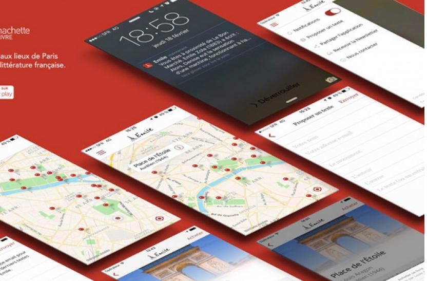 « Emile » la nouvelle application mobile pour découvrir Paris vu par les grands écrivains (75)