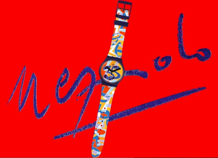 Swatch fête ses 35 ans avec Ugo Nespolo