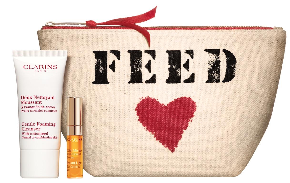 Une nouvelle trousse Clarins X FEED à offrir pour les enfants défavorisés
