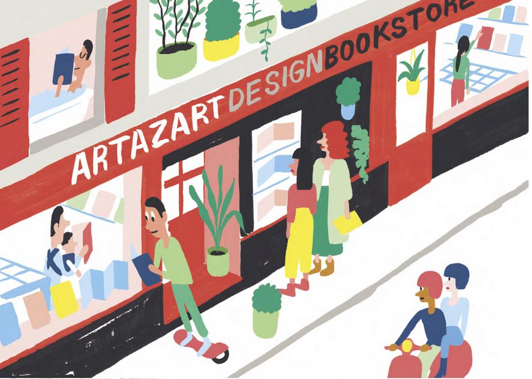 Le Guide du Village Saint-Martin s'expose chez Artazart (75)