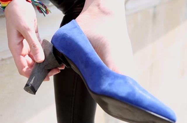 Coup de coeur fashion week : Alegory, la chaussure aux talons amovibles