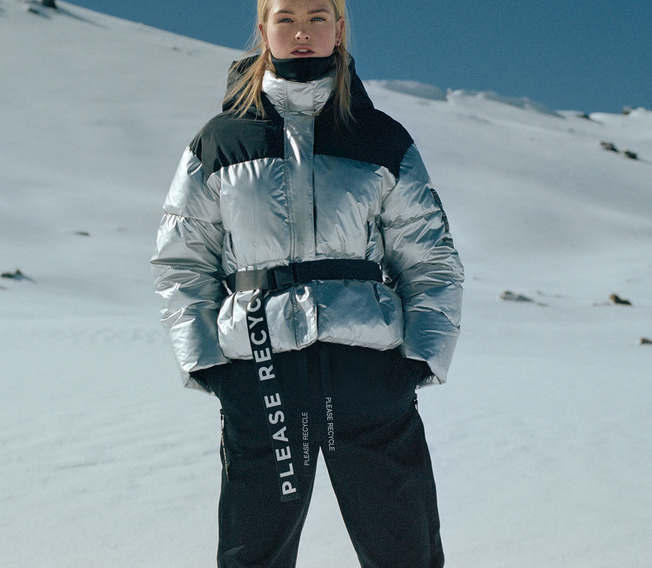 Zara lance une collection de ski