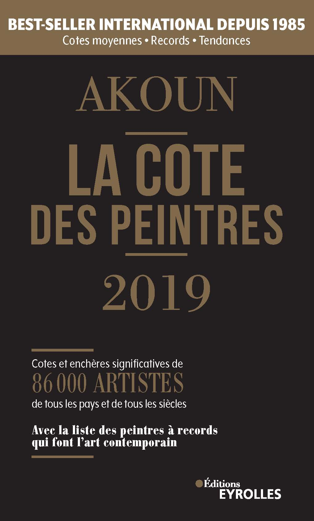 La Cote des peintres 2019