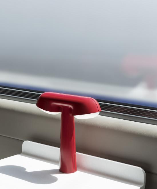 La lampe de table TGV éditée pour le grand public