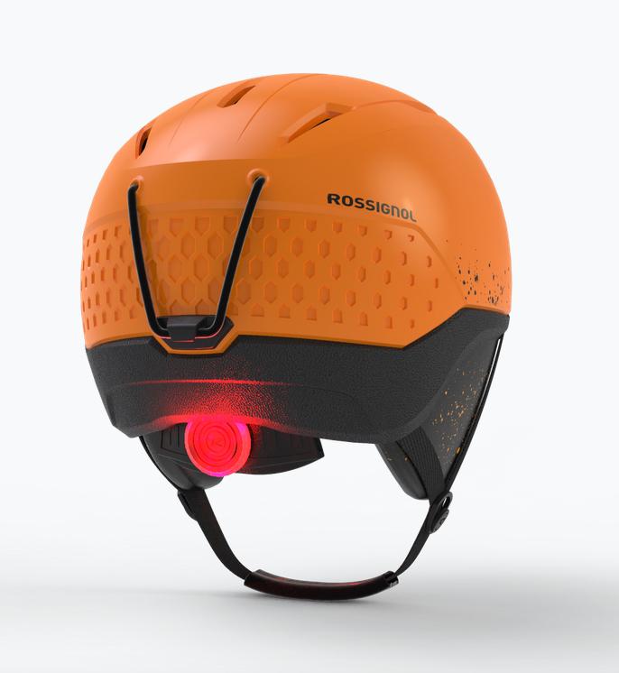 Whoopee Impact LED, le casque pour skieurs en herbe