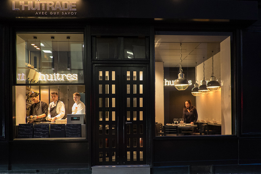 «L'Huîtrade», l'huître haute-gastronomie par Guy Savoy