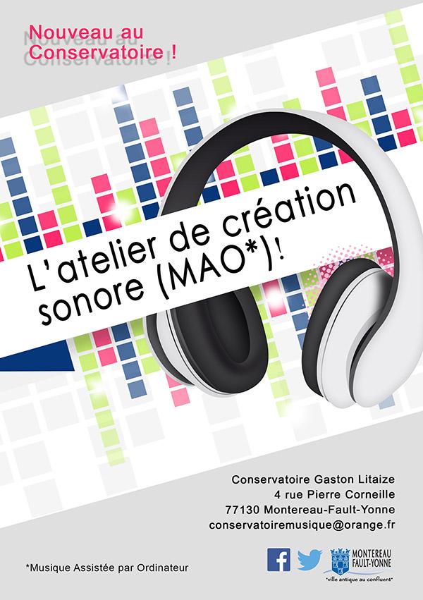 Techno / Un nouvel atelier de musique assistée par MAO à Montereau (77)