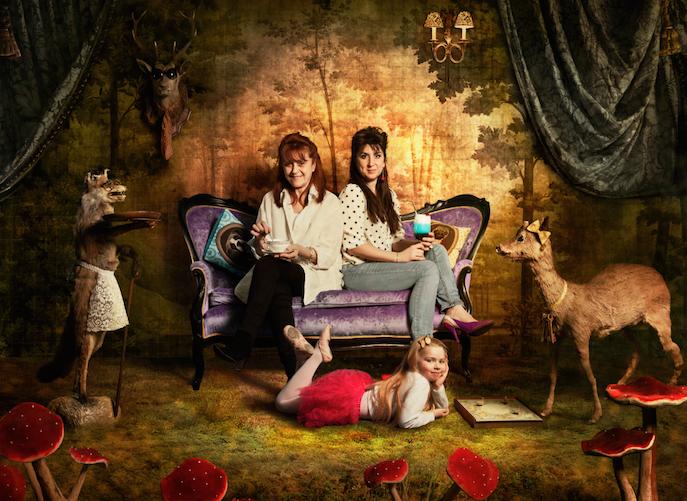 Martine et Elsa les animalières des  Biches (77)