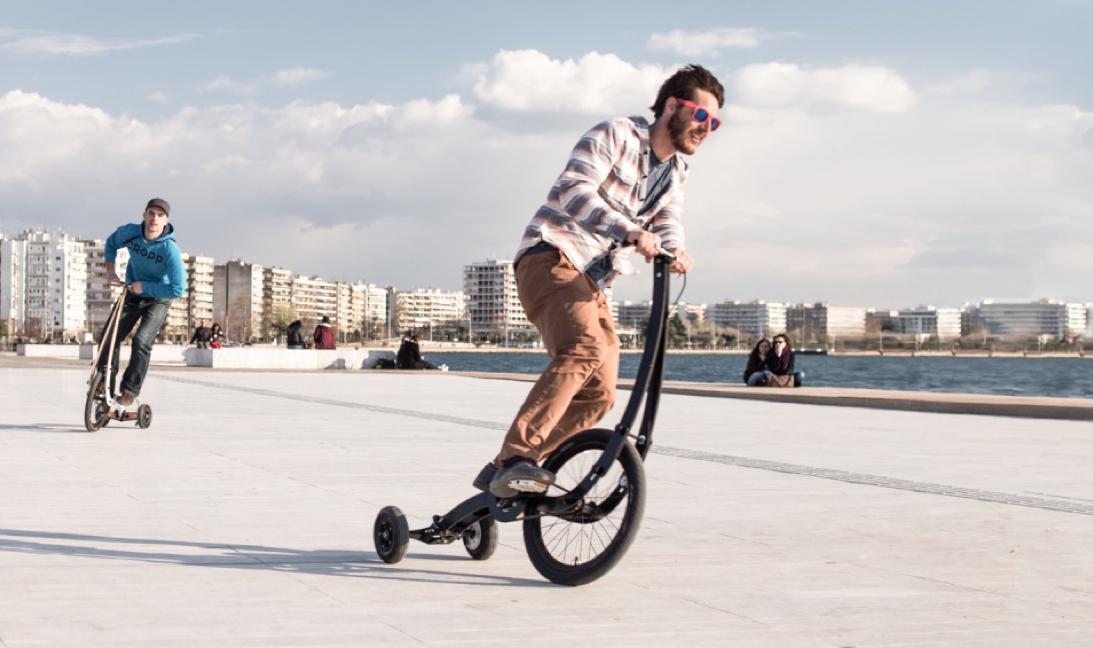 Le Halfbike : le vélo du futur