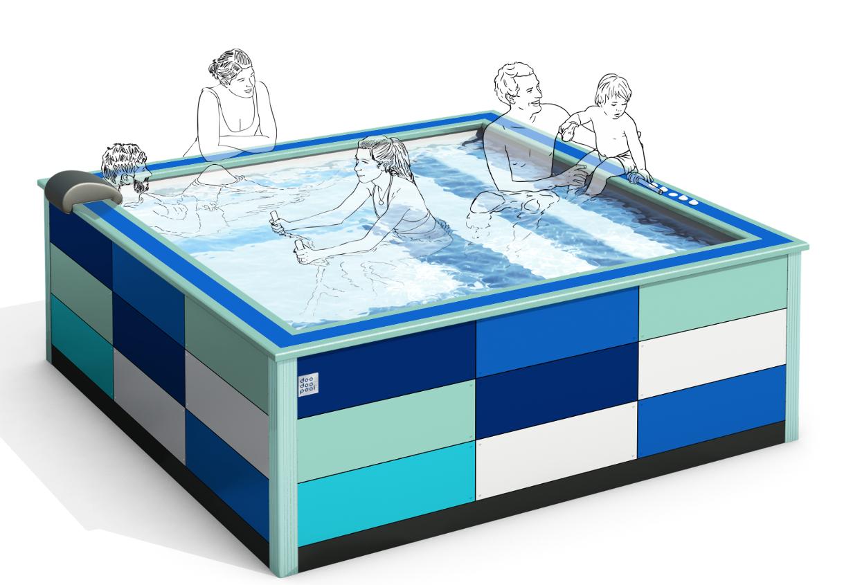 Doodoopool : la piscine multi usages