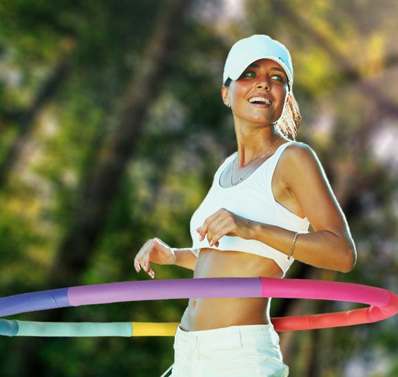 Fitness : le Hula-Hoop revient en force !