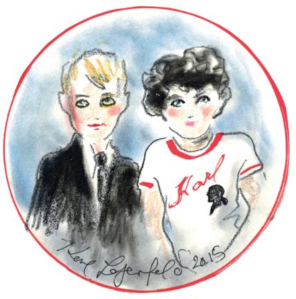 Karl Lagerfeld dévoile sa collection Kids en avant-première sur Melijoe.com