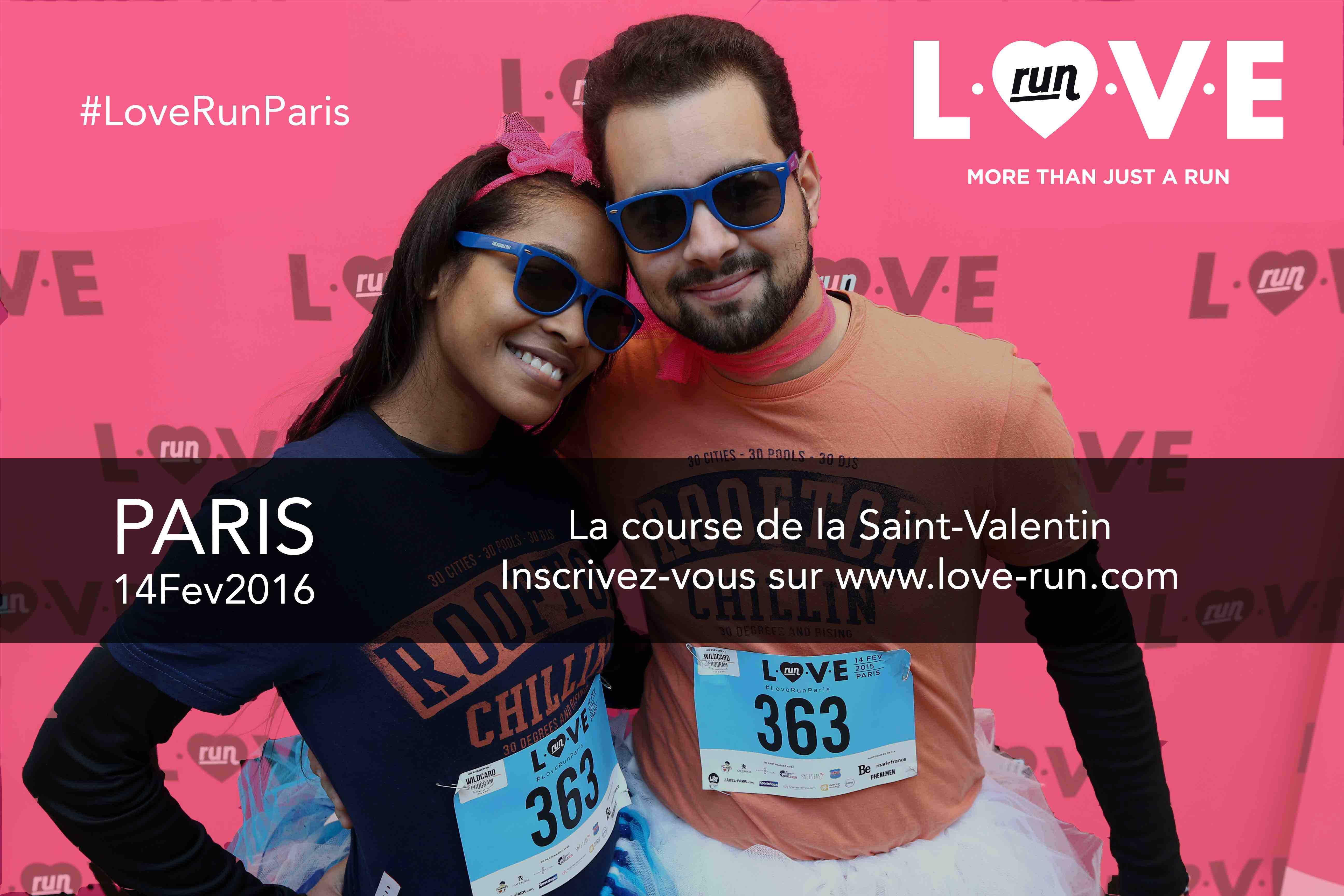Love Run du 14 février, c'est parti !
