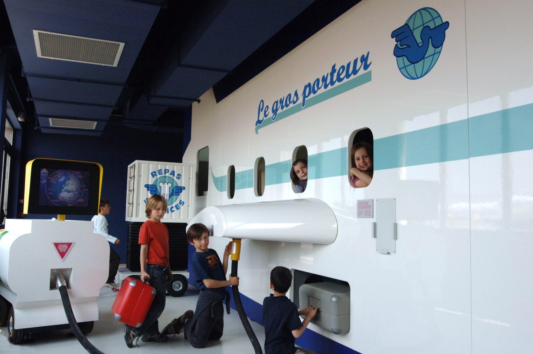 Jouer au pilote au Musée de l'Air et de l'Espace Paris-Le Bourget (93)
