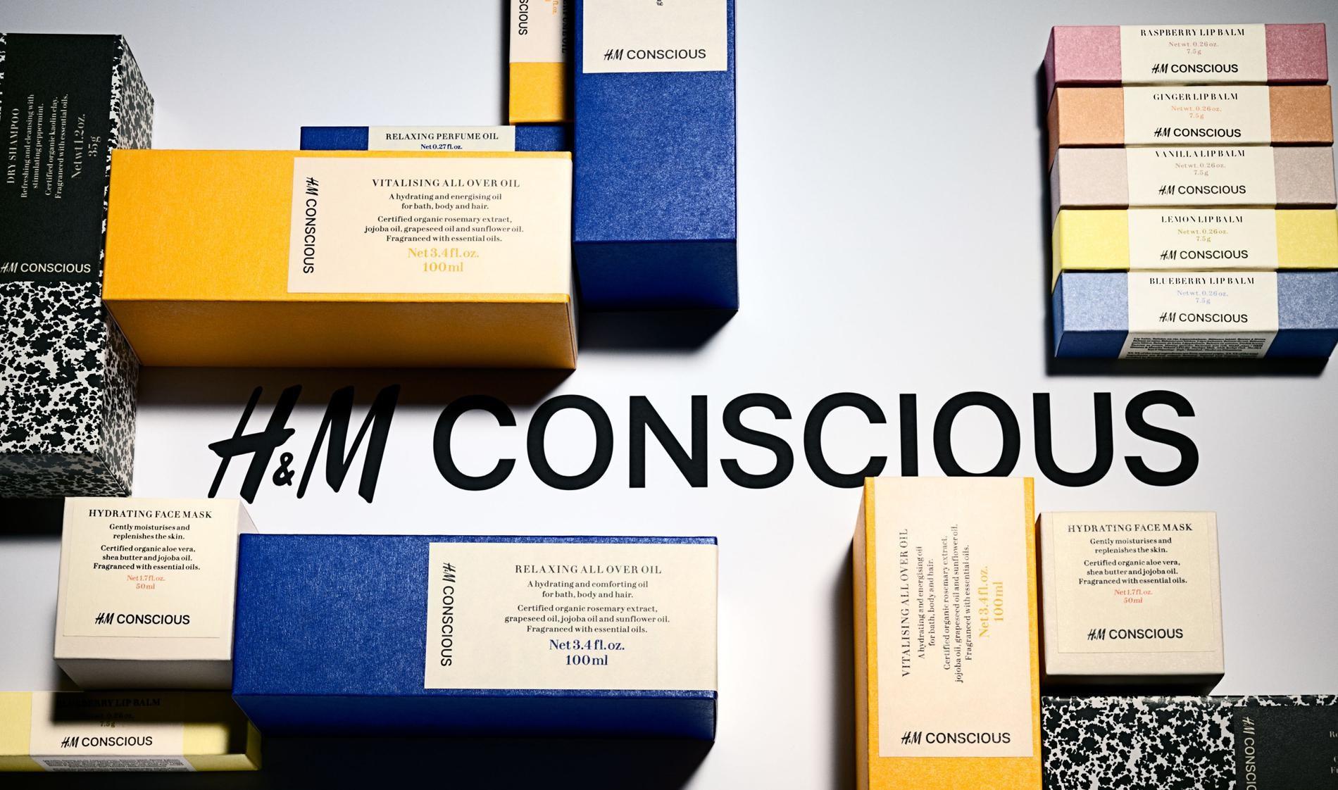 Et H&M lance «  Beauty Conscious » une ligne de cosmétiques Bio