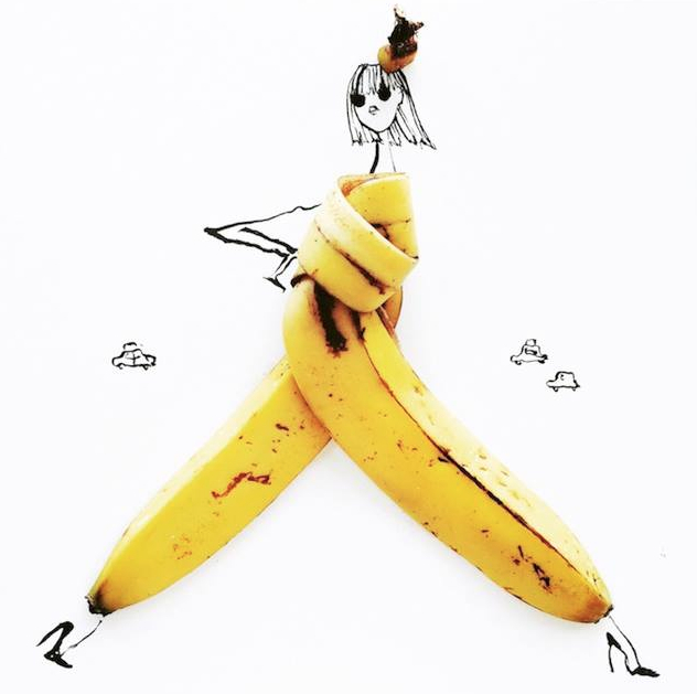 T'as la pêche ? Non, la Banane !