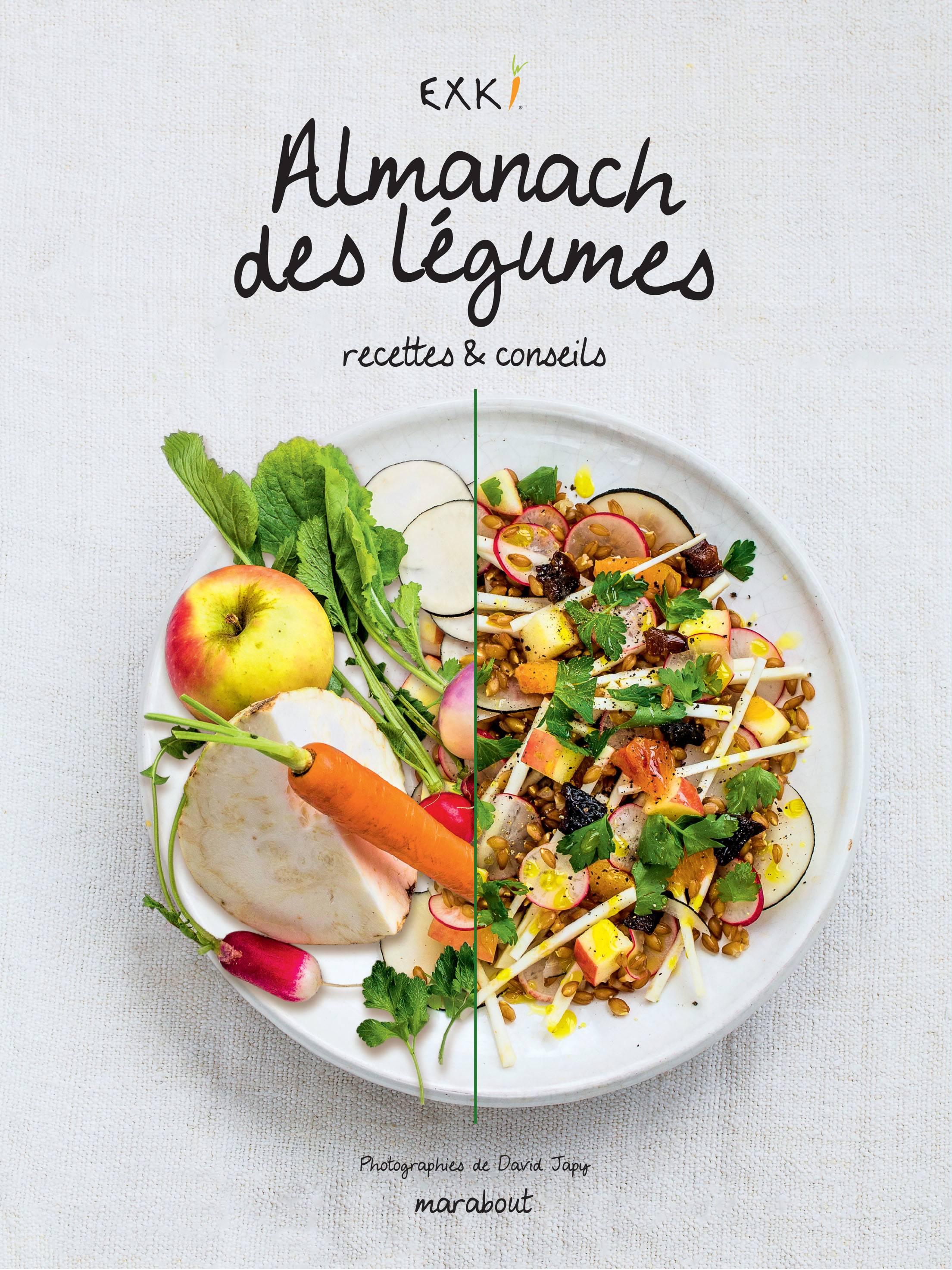L'almanach des légumes, c'est EXKI !