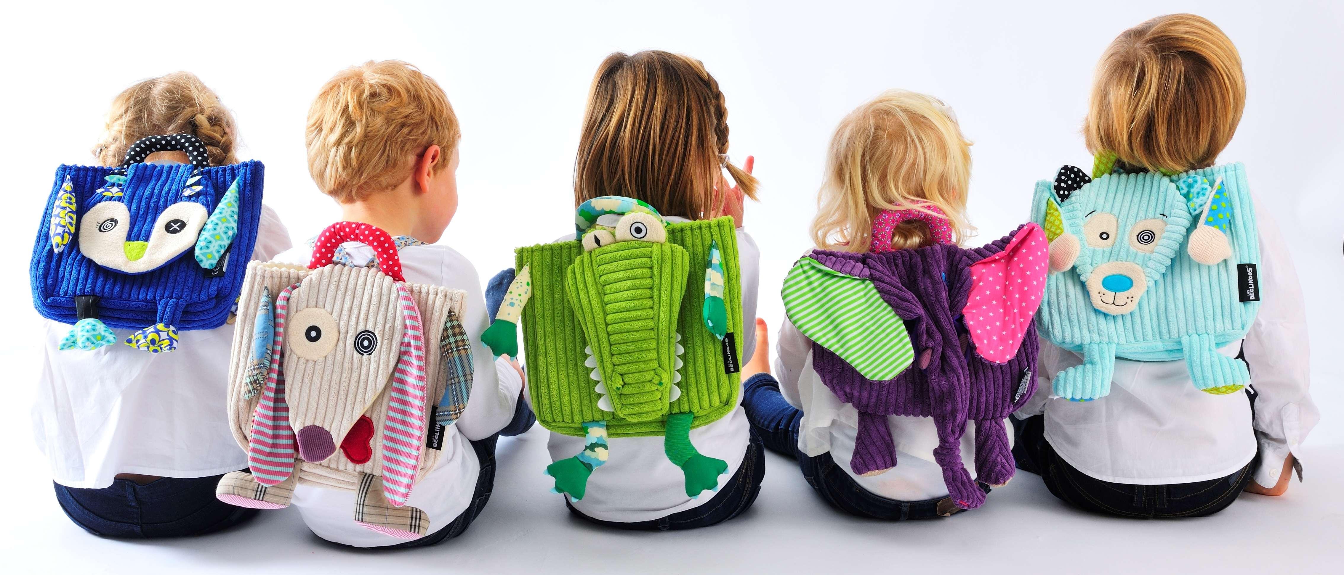 Rentrée des kids : le cartable-doudou Les Déglinglos