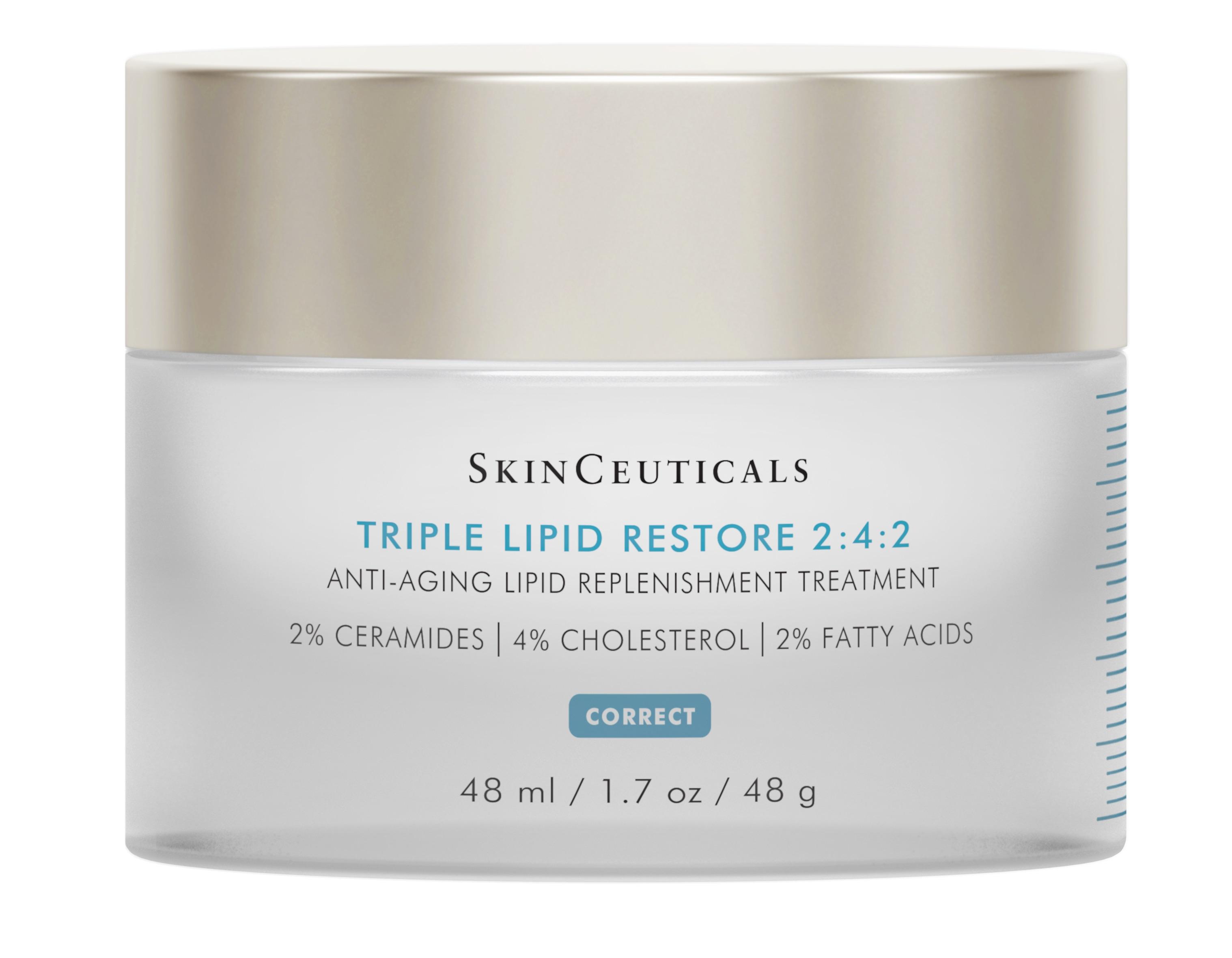 Triple Lipid Restore 2:4:2 : l'étonnant Soin Relipidant Anti-Âge de Skin Ceuticals
