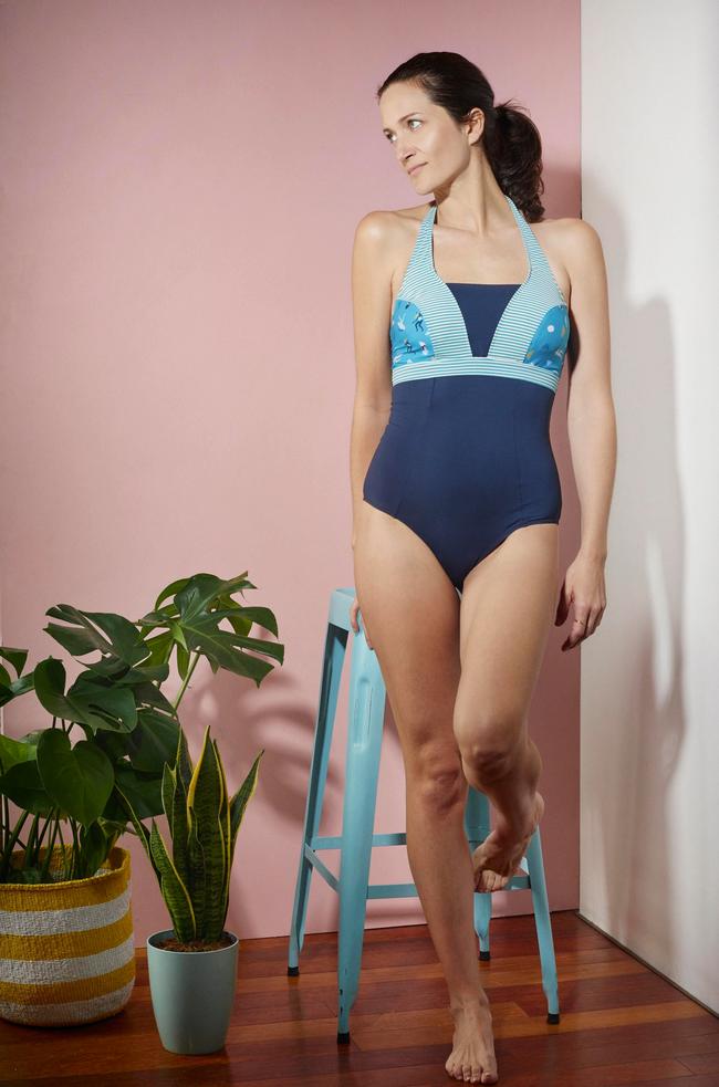 Albertine imagine une collection de maillots pour les femmes opérées d'un cancer du sein