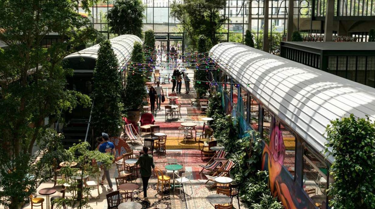 La Felicità, le  plus grand restaurant d'Europe vient d'ouvrir Station F à Paris (75)