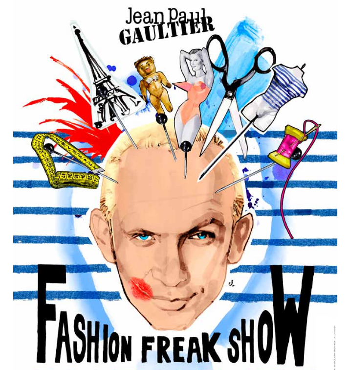 Sortie de l'album du Fashion Freak Show de Jean-Paul Gaultier