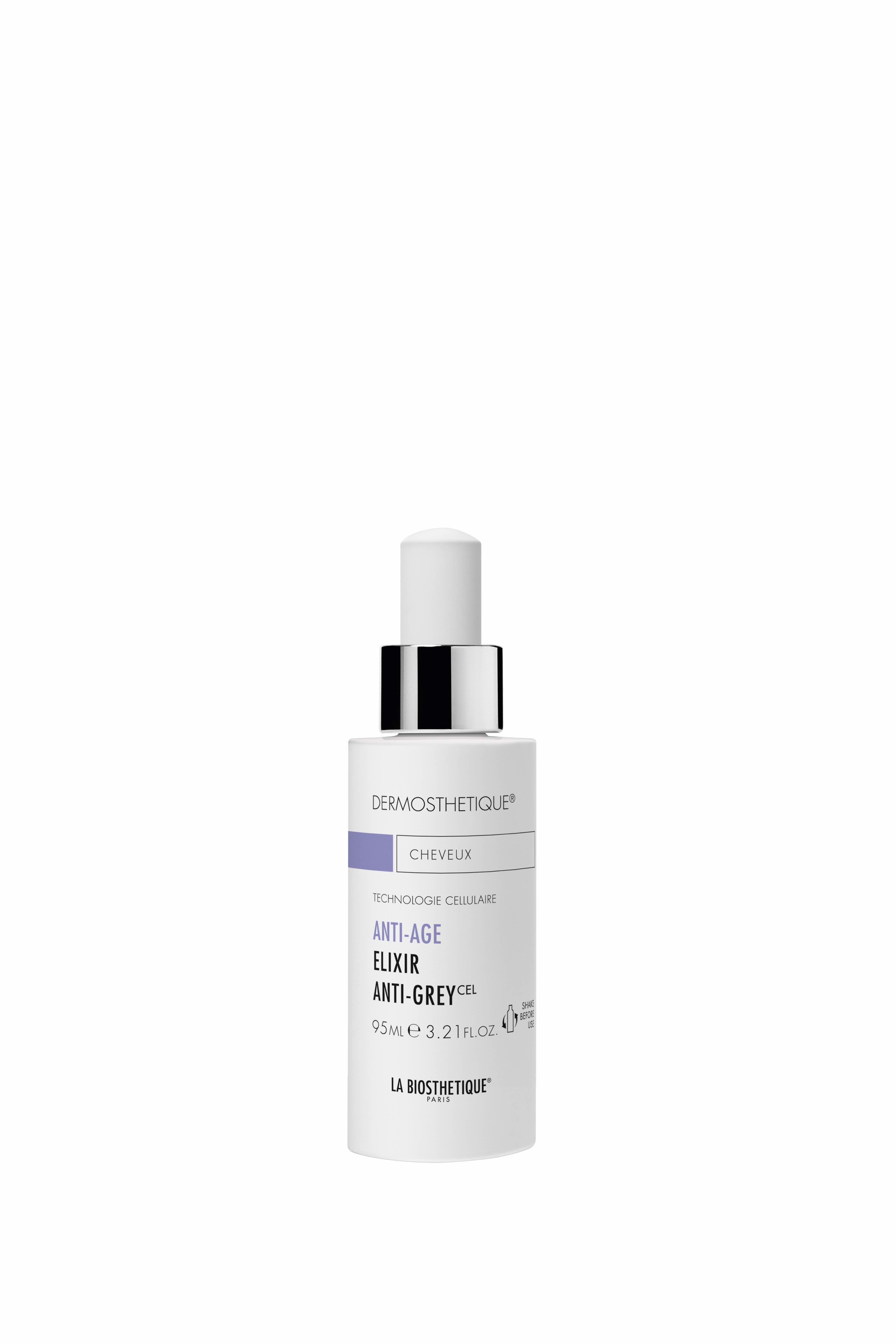 Elixir Anti-Grey, le Sérum qui repigmente les cheveux  blancs