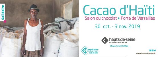 Le Département des Hauts-de-Seine partenaire du Salon du Chocolat, Porte de Versailles (75)