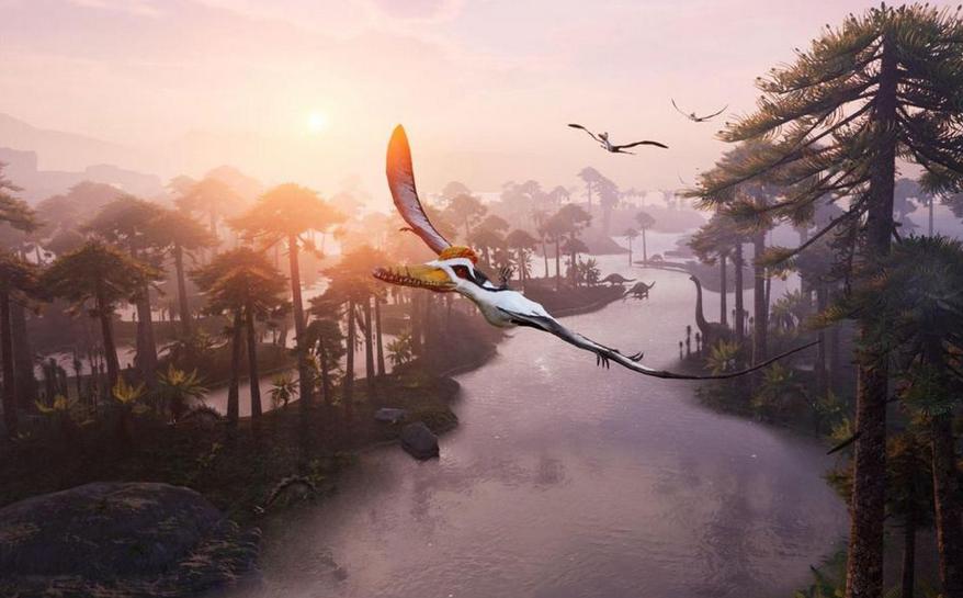Vivre dans la peau d'un dinosaure volant, oui c'est possible !