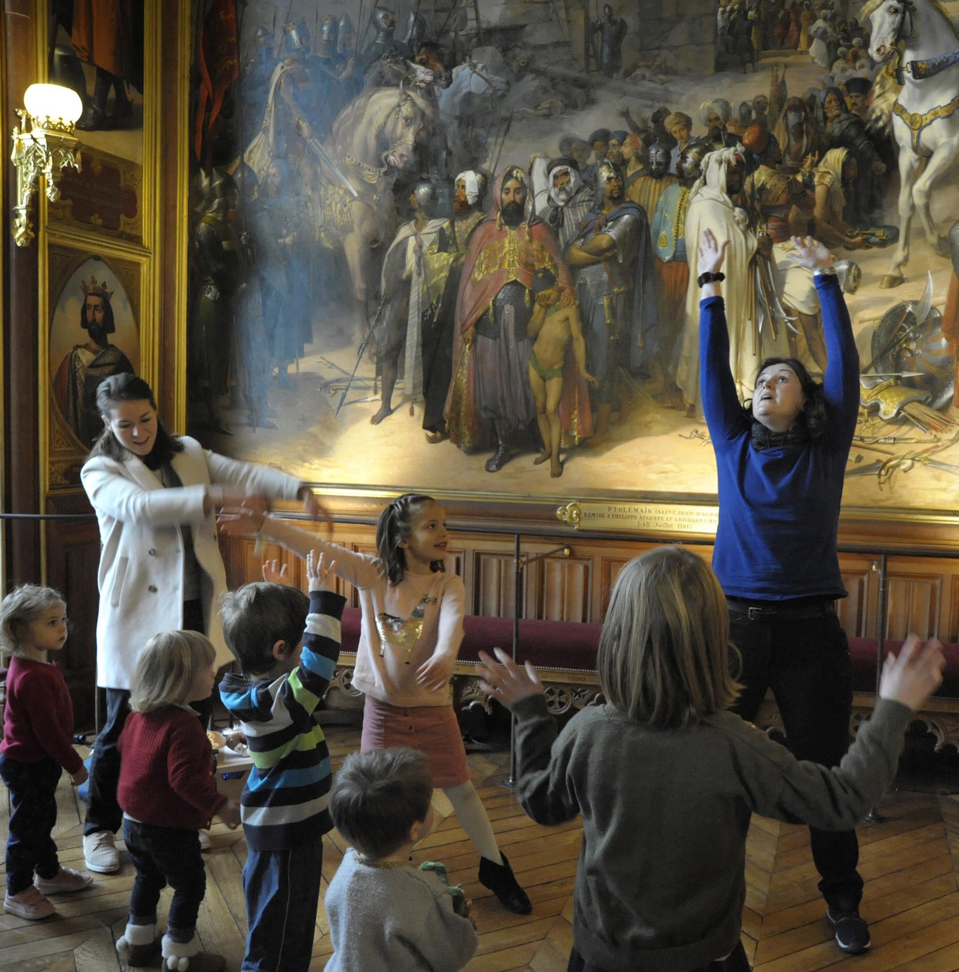 « Mon tout petit Versailles » visite pour le très, très jeune public (78)