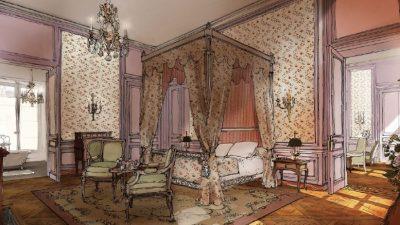 Le Grand Contrôle, l'hôtel de luxe au cœur du Château de Versailles (78)