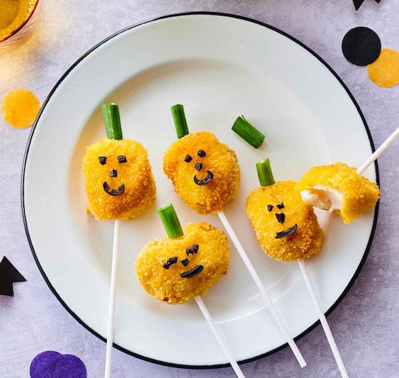 Halloween Food « Citrouilles de coquilles Saint-Jacques » avec vos marmots en cuisine