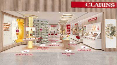 Clarins lance sa 1ère Boutique Virtuelle Clarins