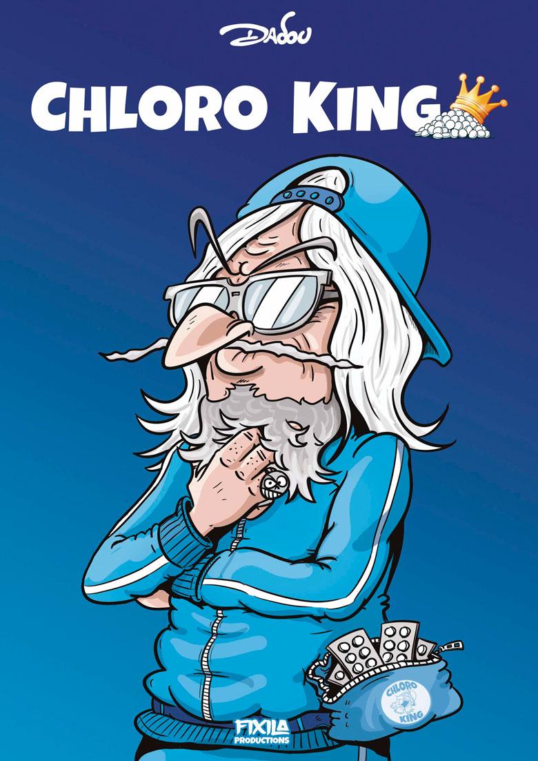 Chloro King la nouvelle bande dessinée de Dadou vient de sortir !