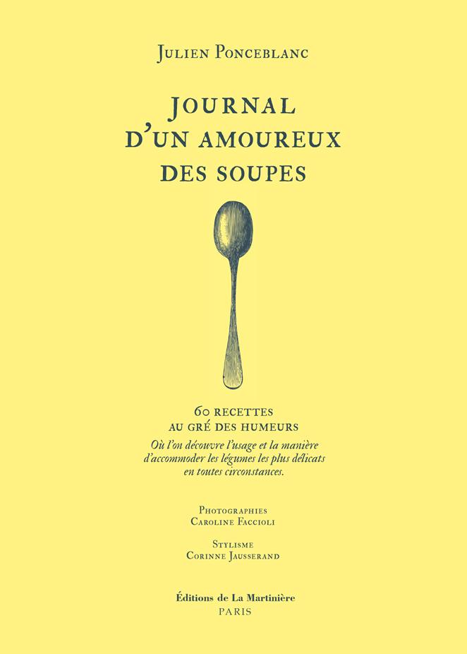 Parution jeudi 14 janvier / Journal d'un amoureux des soupes