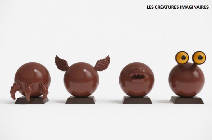 L'Atelier C lance  l'Oeuf de Pâques créatif en chocolat à monter soi-même !