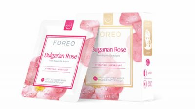 Masque Cannabis Seed Oil et Bulgarian Rose, Foreo