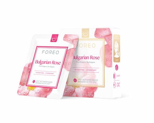 Masque Cannabis Seed Oil et Bulgarian Rose, Foreo