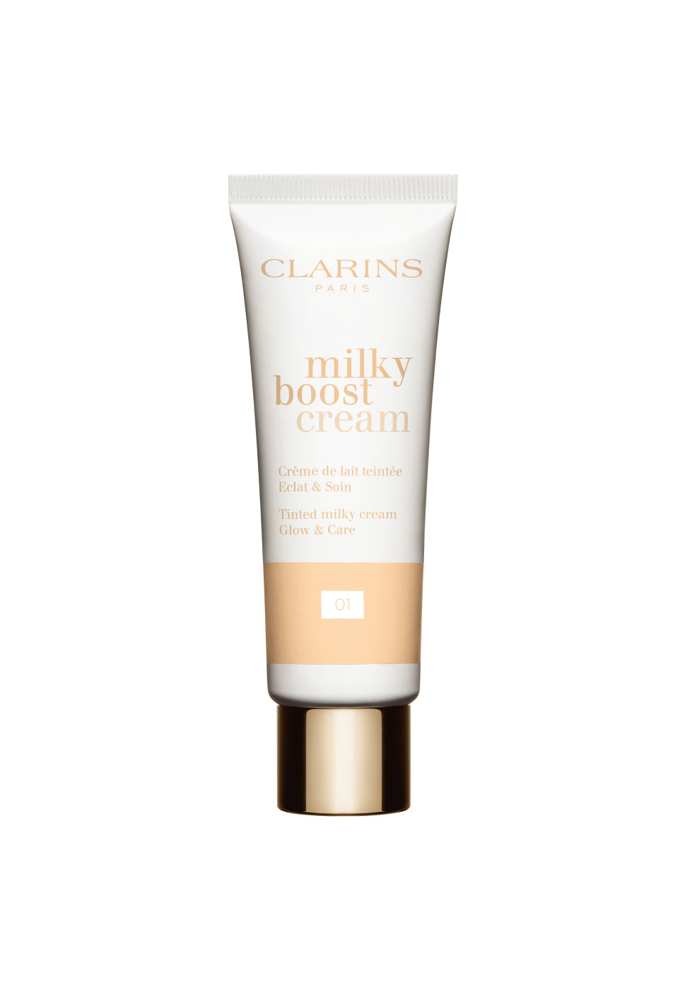 Clarins lance « Milky Boost Cream » le soin make-up avec du lait !