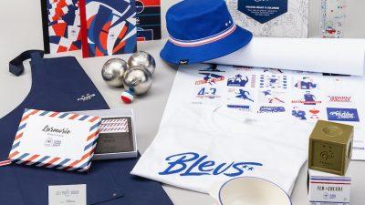 Collection en série limitée pour soutenir les Bleus avec style